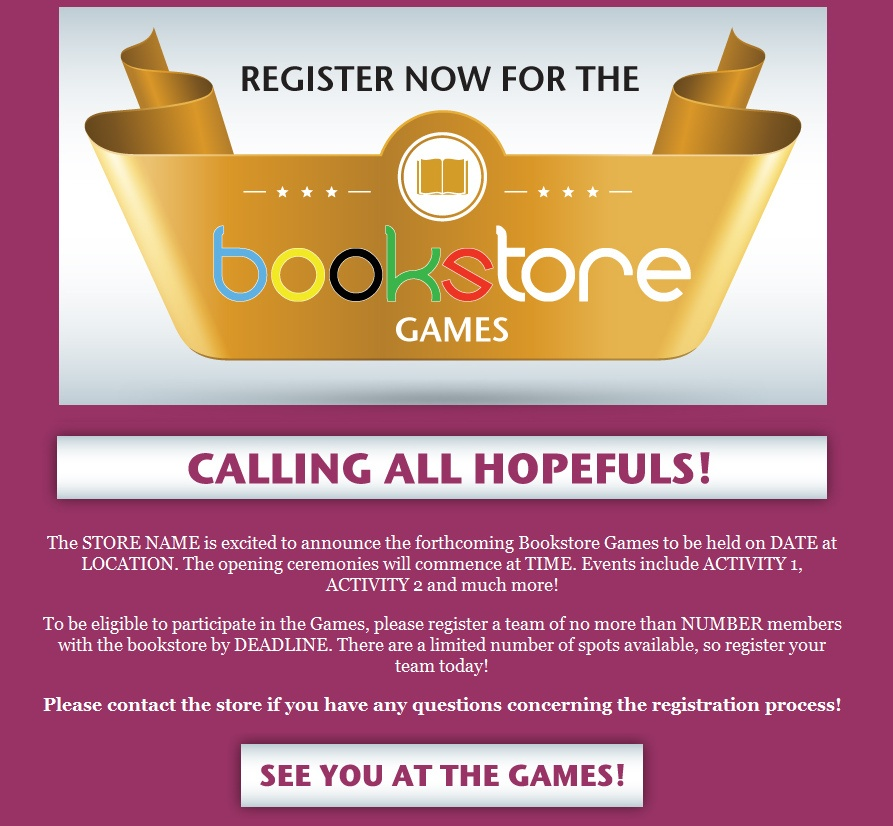 """Download: """"Bookstore Games"""" Email"""