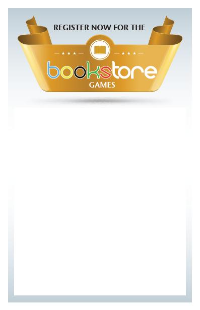 """Download: """"Bookstore Games"""" Poster"""